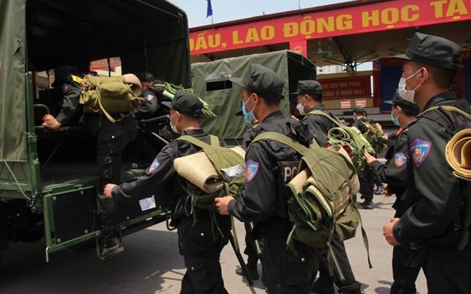 Tăng cường 220 CSCĐ giúp Bắc Giang chống dịch - Ảnh minh hoạ 3