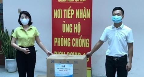 Hội đồng hương Hải Phòng tại Hà Nội chung tay chống dịch