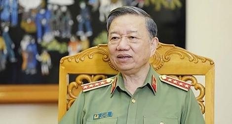 Bộ trưởng Tô Lâm gửi Thư khen Công an các đơn vị, địa phương trong công tác phòng, chống dịch COVID-19