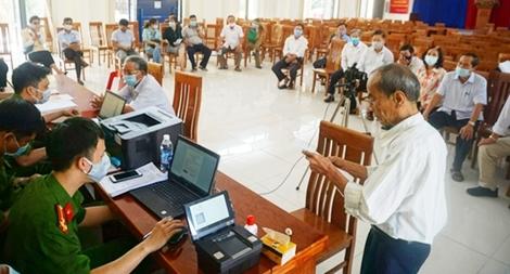 Công an TP Đà Nẵng đẩy nhanh tiến độ cấp căn cước công dân