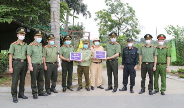 Học viện ANND chung tay ủng hộ công tác phòng chống dịch COVID-19 - Ảnh minh hoạ 4