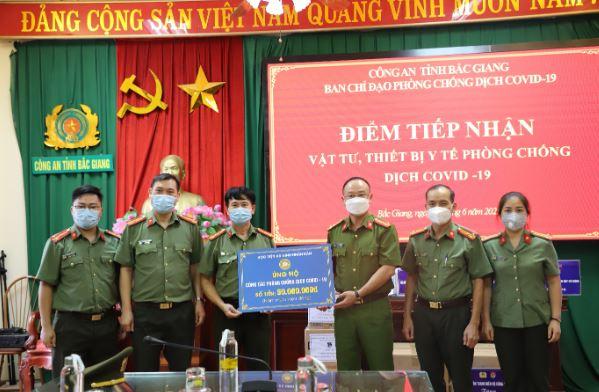 Học viện ANND chung tay ủng hộ công tác phòng chống dịch COVID-19 - Ảnh minh hoạ 3