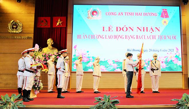 Công an tỉnh Hải Dương sơ kết công tác 6 tháng đầu năm
