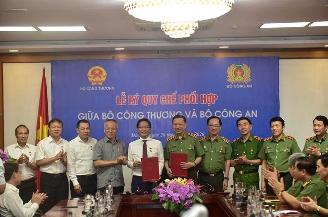 Bộ Công an và Bộ Công thương ký kết quy chế phối hợp