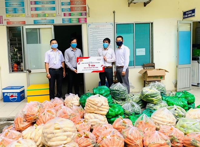 Ủng hộ 10 tấn rau củ quả để tiếp sức Đà Nẵng chống dịch
