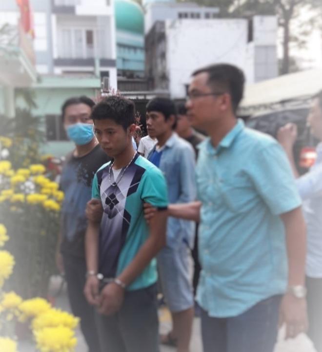 Đối tượng Tình được di lý về Công an TP Hồ Chí Minh xử lý