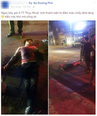 Nam thanh niên chết oan khi gặp phải 2 nhóm hỗn chiến ở Tây Hồ, Hà Nội