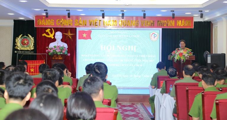 Nâng cao chất lượng công tác nghiệp vụ cơ bản của lực lượng Cảnh sát PCCC