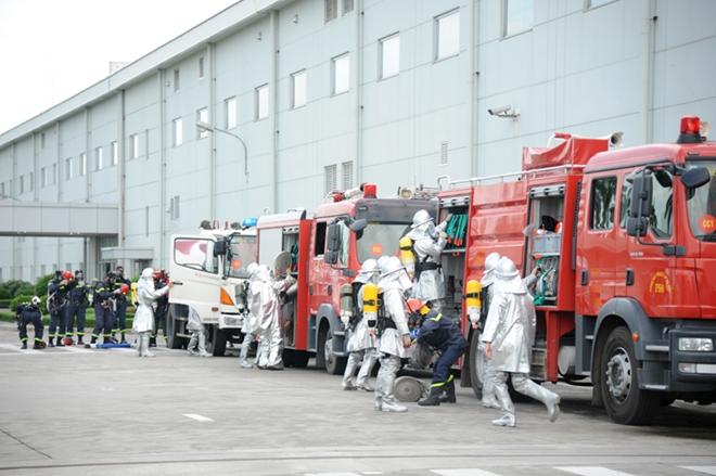 Nâng cao công tác PCCC tại các Khu công nghiệp