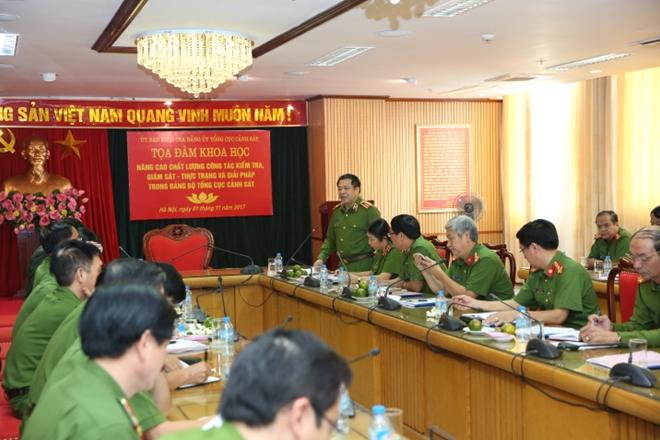 Đảng bộ Tổng cục Cảnh sát nâng cao chất lượng công tác kiểm tra, giám sát