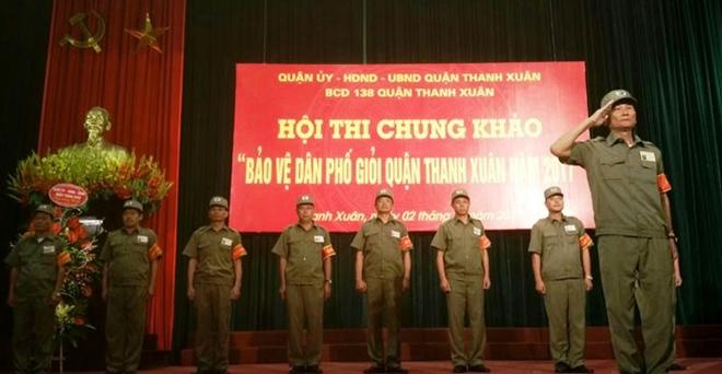 Hội thi bảo vệ dân phố giỏi quận Thanh Xuân - Ảnh minh hoạ 2