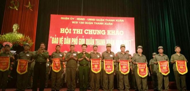 Hội thi bảo vệ dân phố giỏi quận Thanh Xuân