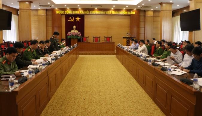 Bộ Công an thanh tra việc chấp hành pháp luật về PCCC đối với UBND tỉnh Vĩnh Phúc