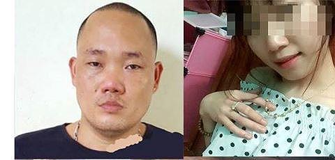 Đối tượng Dương Tiến Định và nạn nhân Hiền khi chưa bị bạn trai lấy xăng châm lửa đốt