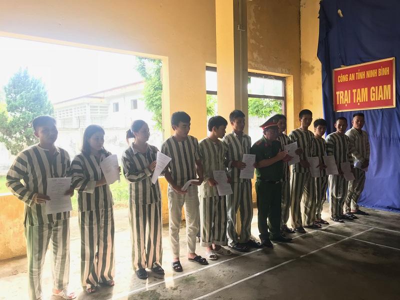 27 phạm nhân được giảm án, tha tù trước thời hạn