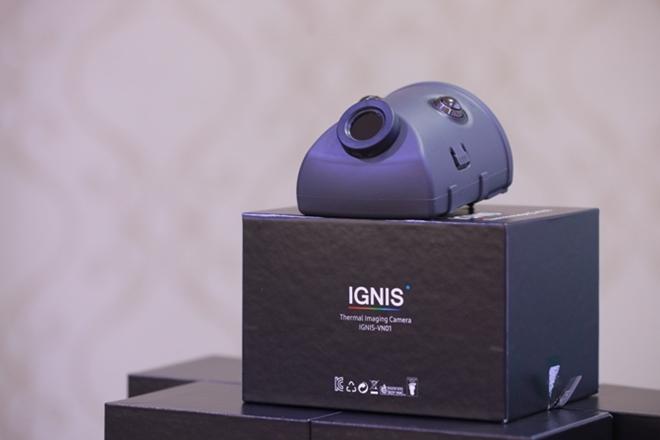 Camera phát hiện nhiệt IGNIS sẽ giúp Cảnh sát PCCC cứu các nạn nhân bị mắc kẹt trong đám cháy