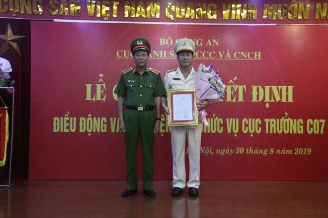 Bổ nhiệm Cục trưởng Cục Cảnh sát PCCC&CNCH - Ảnh minh hoạ 2