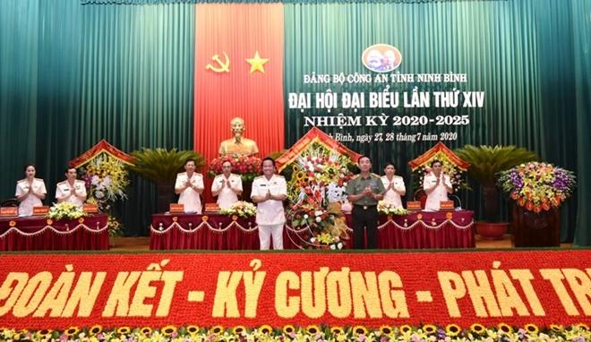Đảng bộ Công an tỉnh Ninh Bình nâng cao chất lượng các mặt công tác