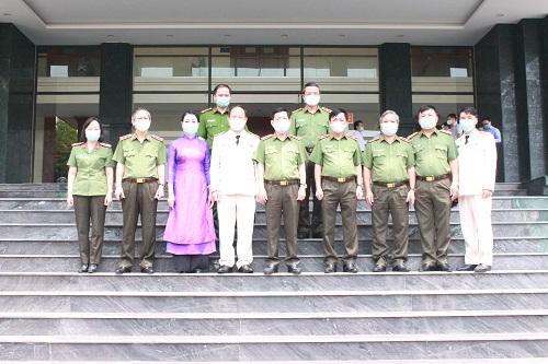 Thứ trưởng Nguyễn Văn Sơn kiểm tra, chỉ đạo công tác tại Công an tỉnh Vĩnh Phúc - Ảnh minh hoạ 3