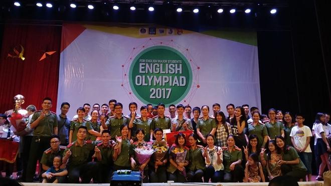 Học viện An ninh Nhân dân giành Quán quân Olympic tiếng Anh chuyên toàn quốc 2017 - Ảnh minh hoạ 2