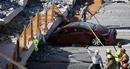 Ám ảnh kinh hoàng sau khi cây cầu gần 1.000 tấn đổ sập tại Mỹ