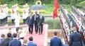 Thủ tướng Nguyễn Xuân Phúc chủ trì lễ đón chính thức Thủ tướng Nga Dmitry Medvedev