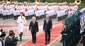 Trang trọng lễ đón chính thức Tổng thống Argentina tại Hà Nội1