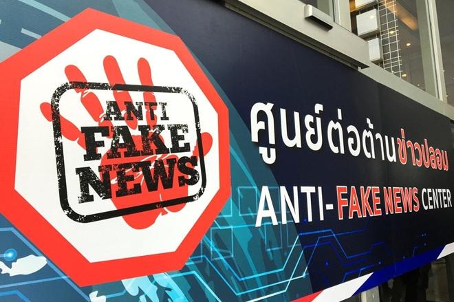 Phòng trực chiến chống tin giả ở Thái Lan