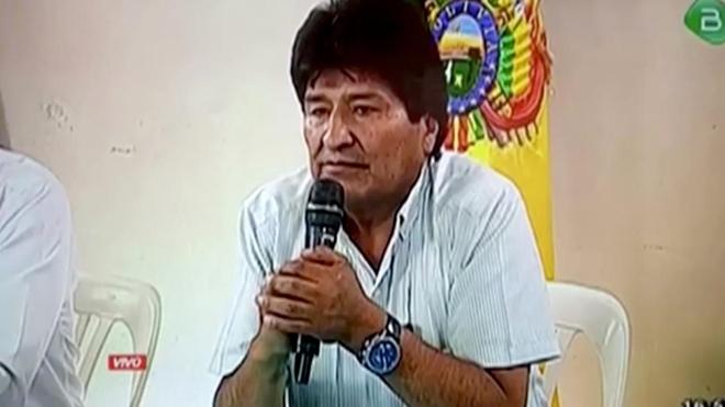 Mỹ Latin phân cực với sự ra đi của ông Morales