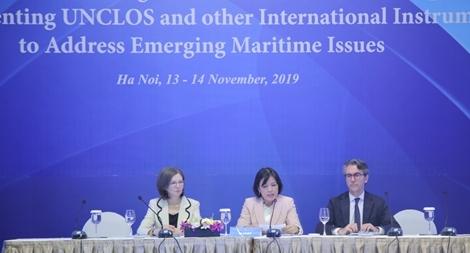 Chuyên gia quốc tế thảo luận về Công ước Luật biển 1982 tại Việt Nam
