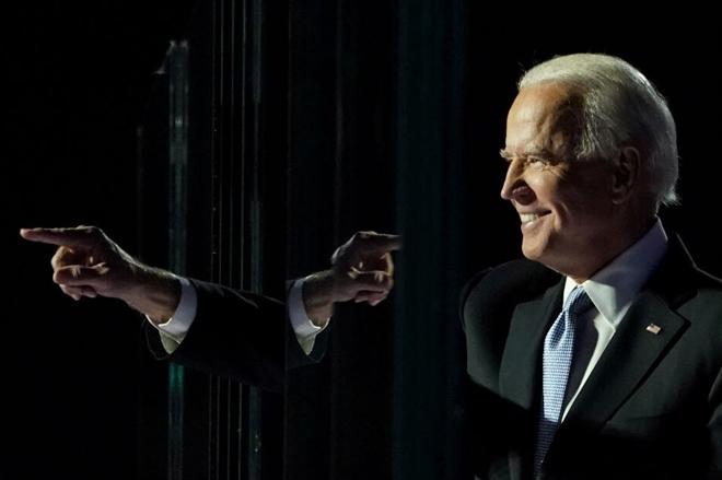 Ông Joe Biden chính thức vượt 270 phiếu đại cử tri trở thành Tổng thống Mỹ