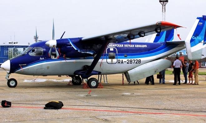 Máy bay chở 17 người mất tích bí ẩn ở Nga