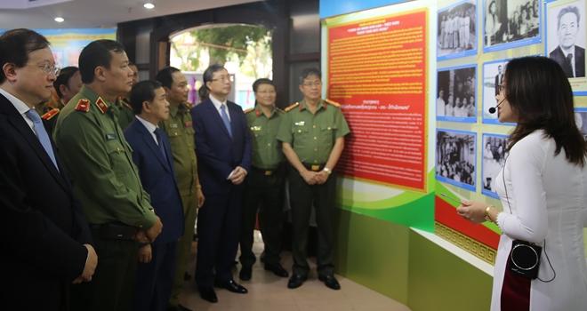 Công an nhân dân Lào – Việt Nam thắm tình hữu nghị - Ảnh minh hoạ 7