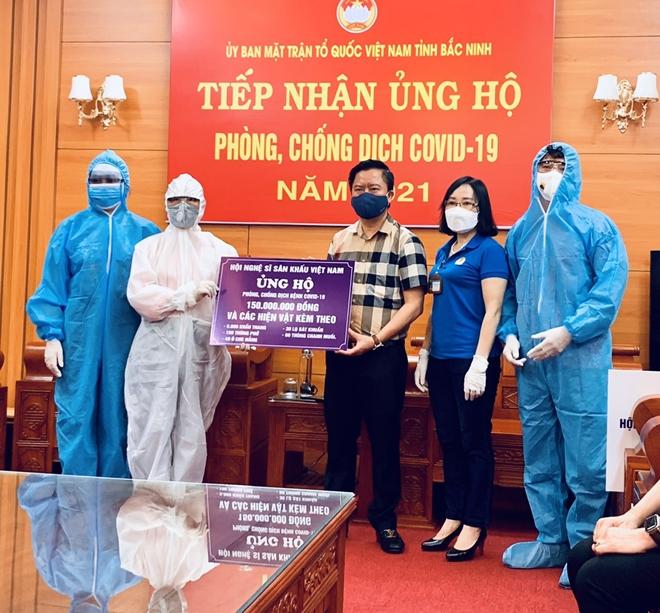 Nghệ sĩ sân khấu chung sức chống dịch tại Bắc Giang, Bắc Ninh - Ảnh minh hoạ 2