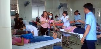 Công nhân Công ty Dệt may Panko Tam Thăng liên tục ngất xỉu