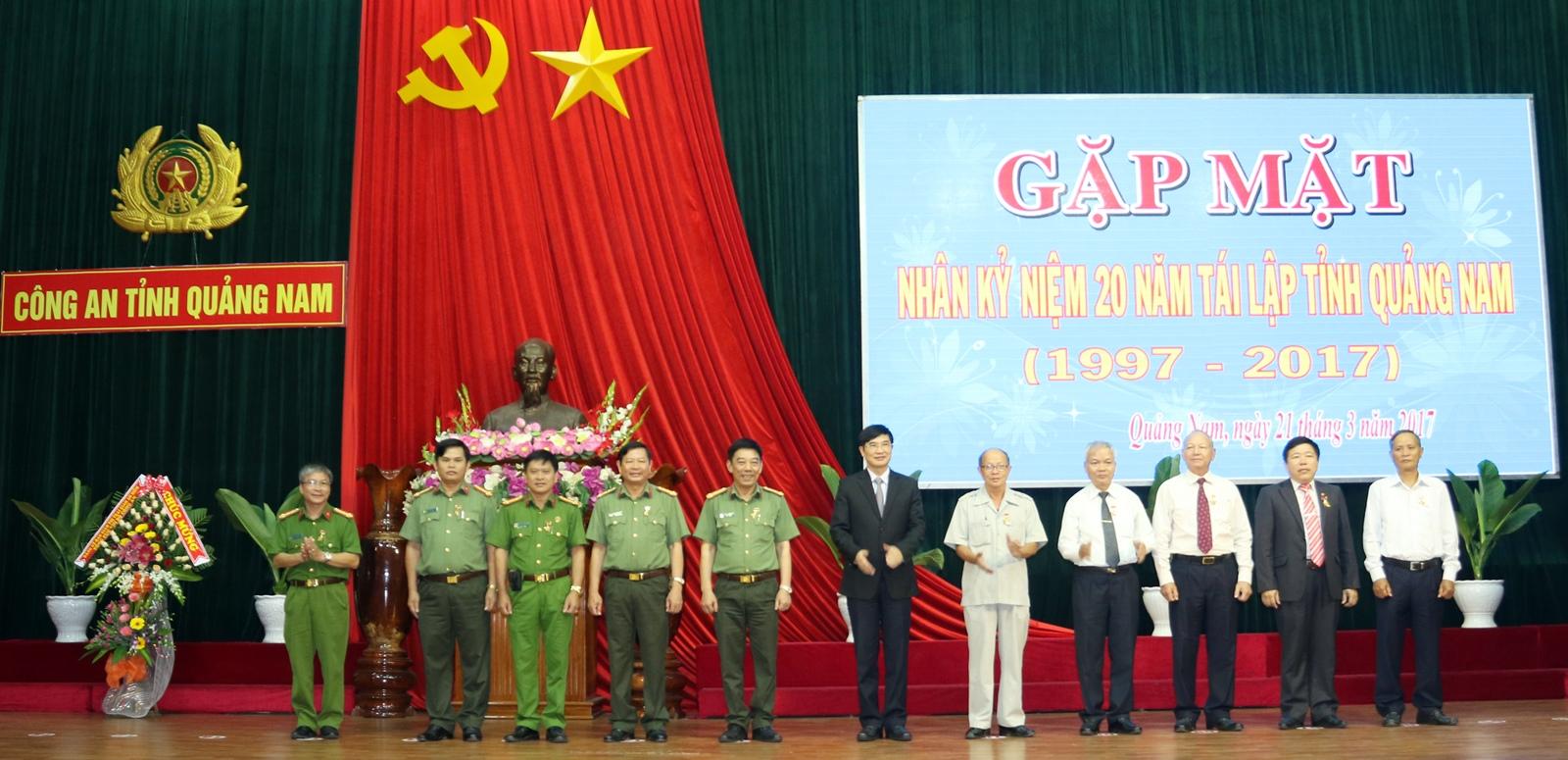Công an tỉnh Quảng Nam gặp mặt cán bộ lãnh đạo qua các thời kỳ