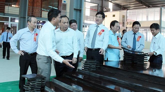 500 tỷ đồng xây dựng Nhà máy chế biến gỗ MDF Quảng Nam