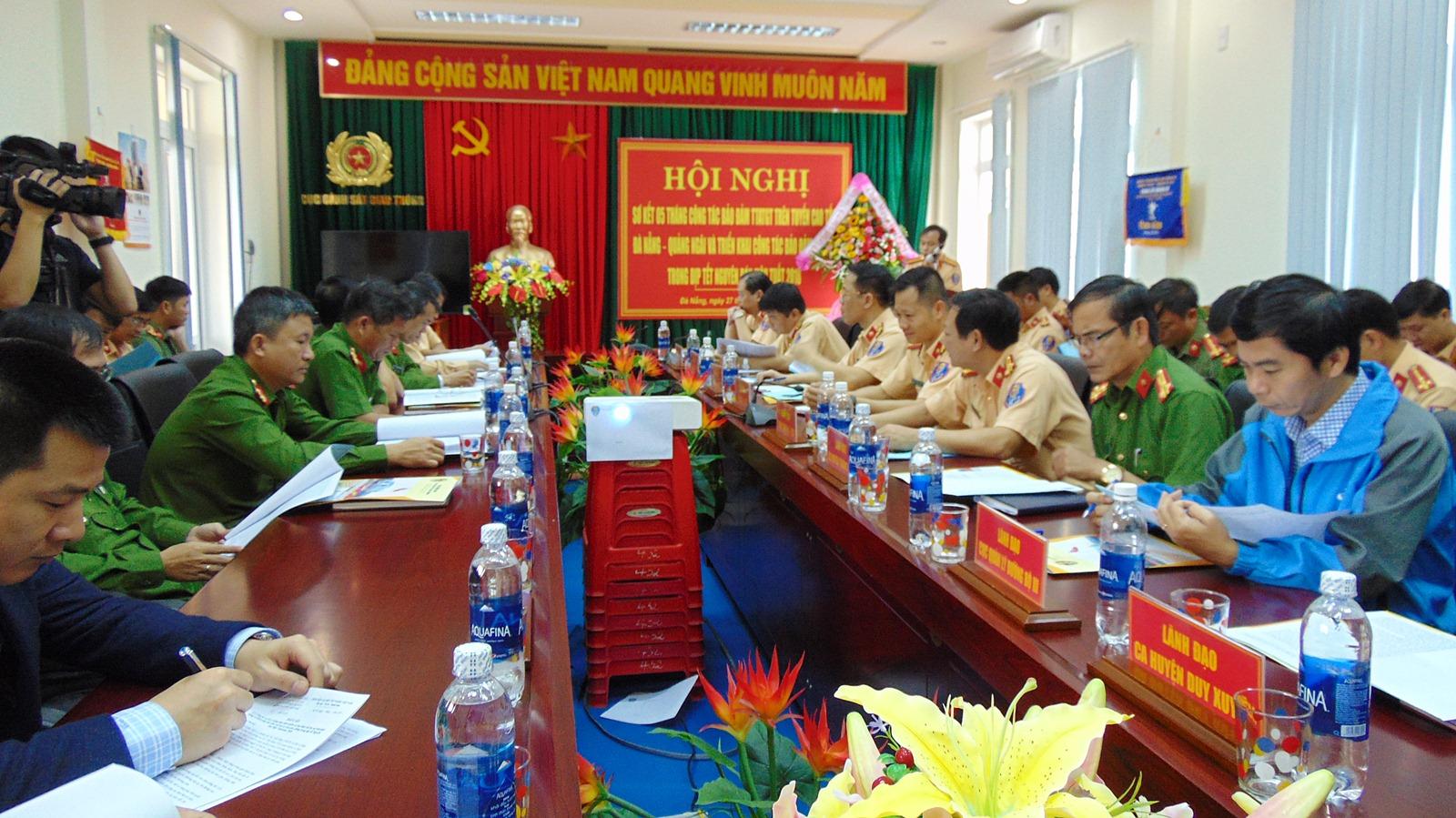 Đảm bảo ATGT tuyến cao tốc Đà Nẵng - Quảng Ngãi dịp Tết