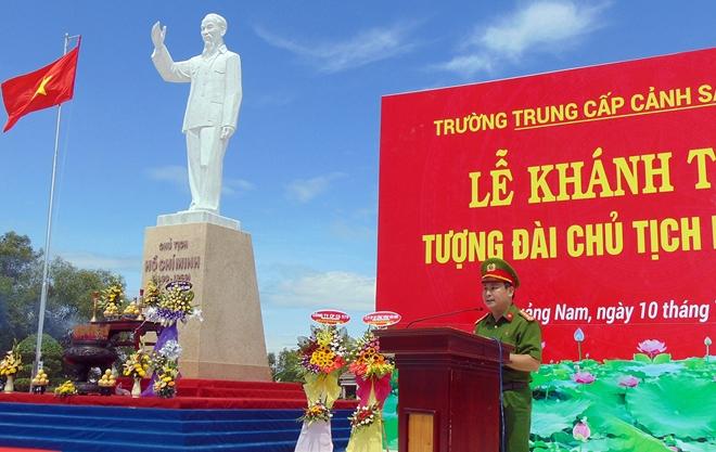 Khánh thành Tượng đài Bác Hồ tại Trường Trung cấp CSND V - Ảnh minh hoạ 2