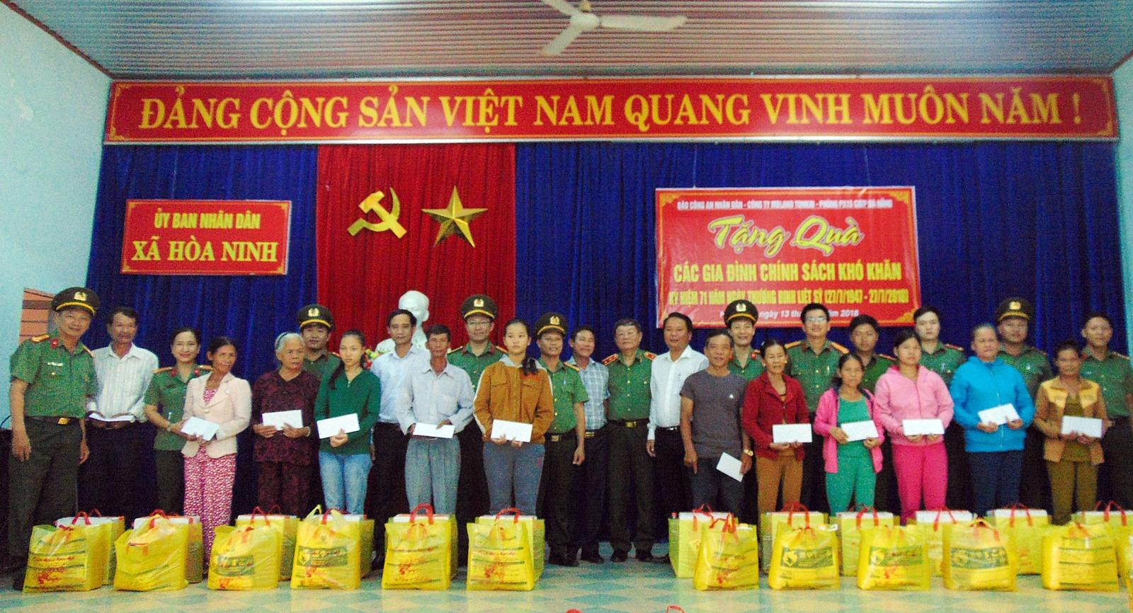 Đến với vùng quê cách mạng Hòa Ninh