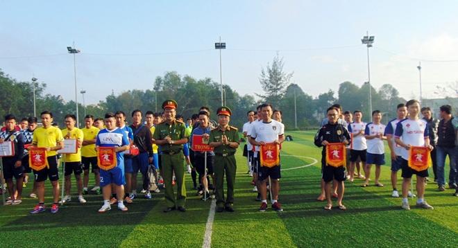 Sôi nổi giải bóng đá của Cảnh sát môi trường - Ảnh minh hoạ 2