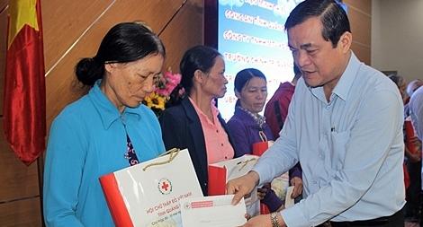 Quảng Nam phát động Tết vì người nghèo và nạn nhân chất độc da cam