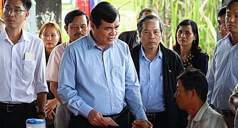 Bí thư Tỉnh ủy Quảng Nam thăm hỏi, chia buồn với gia đình các em học sinh đuối nước