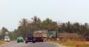 Xe tải chở đất san lấp khu đô thị gây nguy cơ mất an toàn giao thông