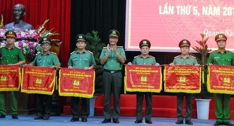 CA Quảng Nam đoạt giải Nhất toàn đoàn Hội thi điều lệnh, bắn súng, võ thuật CAND lần thứ 5