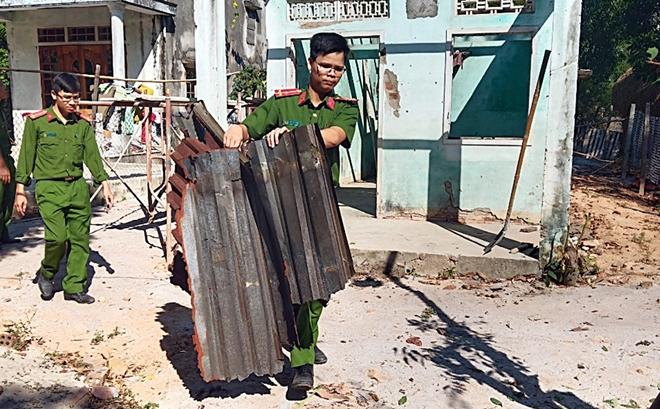 Tuổi trẻ Công an tỉnh Quảng Nam hỗ trợ xây dựng nhà tình nghĩa