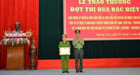 Công an tỉnh Quảng Nam phát động đợt thi đua đặc biệt