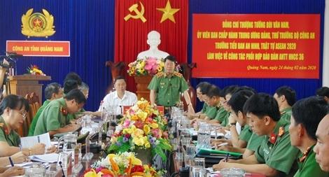 Đảm bảo tuyệt đối an toàn Hội nghị cấp cao ASEAN lần thứ 36