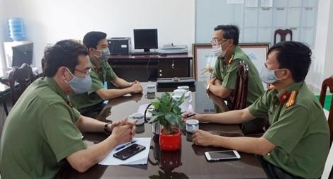 Tham mưu Công an Quảng Nam trong phòng chống COVID-19