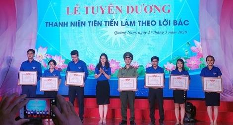 Trao tặng Bằng khen cho Đoàn Thanh niên Công an Quảng Nam